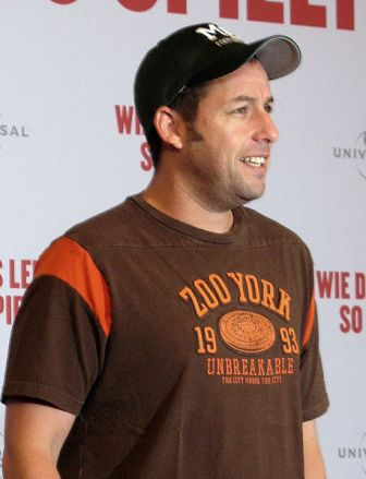 Facts about Adam Sandler - In Berlin 2009