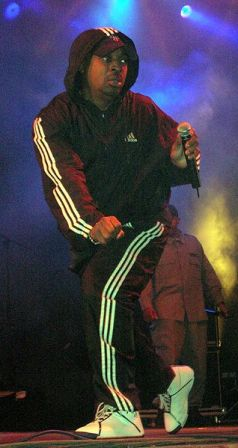 Facts about Adidas - Chuck.D in Adidas wearsuit