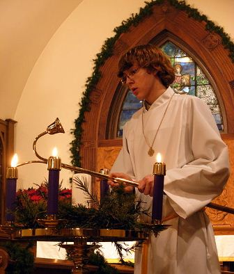 Facts about Advent - Lighting the candles