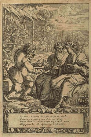 Facts about Aesop - Aesop as depicted by Francis Barlow