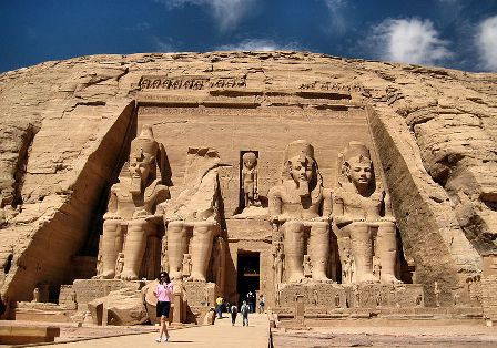 Facts about Africa - Abu Simbel Temple