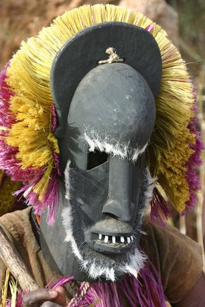 Facts about African masks - Traditional Dogon mask