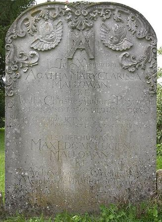 Facts about Agatha Christie - Gravestone