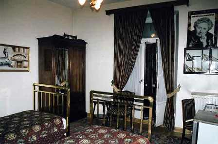 Facts about Agatha Christie - Room in Istanbul where Christie had stayed