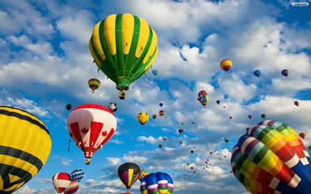 Facts about air - Air balloons