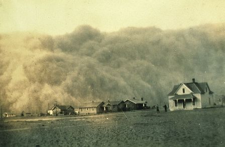 Facts about air pollution - Dust storm in Texas