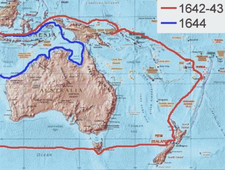 Facts about Abel Tasman - Routes
