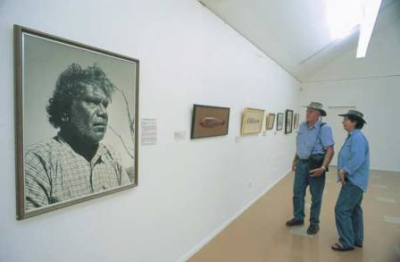 Facts about Aboriginal art - Painting of Namatjira