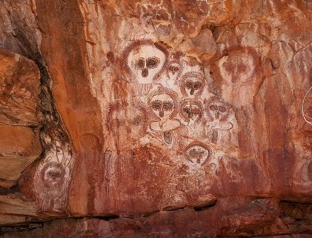 Facts about Aboriginal art - Rock art