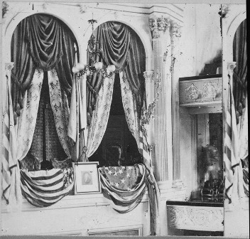 Facts about Abraham Lincoln Assassination - Presidential box