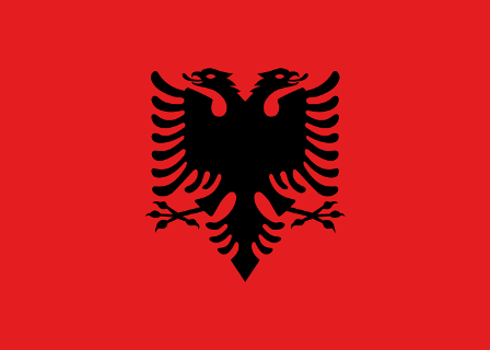 Facts about Albania - Albania Flag