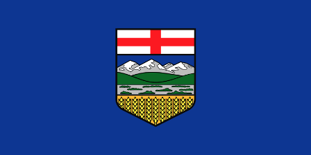 Facts about Alberta - Flag