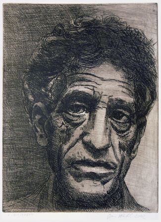 Facts about Alberto Giacometti - Etching