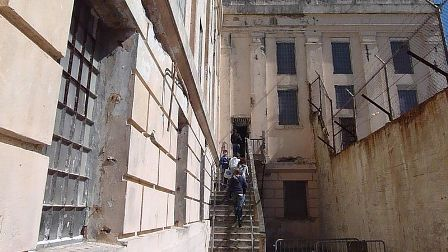 Facts about Alcatraz - Exterior view