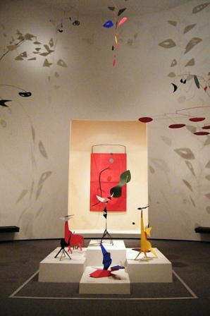 Facts about Alexander Calder - Calder room in National Gallery