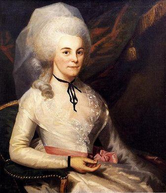 Facts about Alexander Hamilton - Elizabeth Schuyler Hamilton (wife)