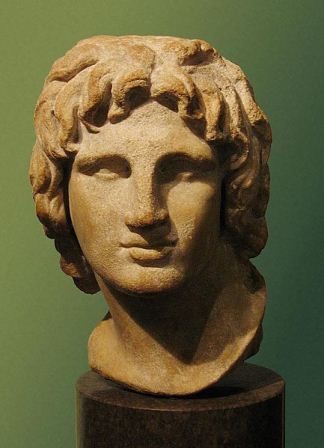 Facts about Alexander the Great - Bust