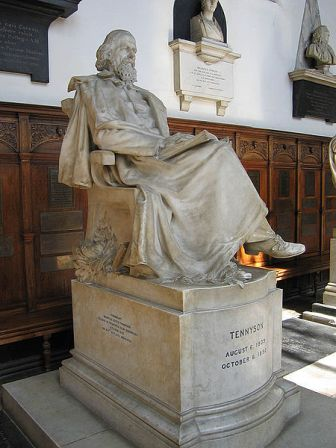 Facts about Alfred Lord Tennyson - Statue