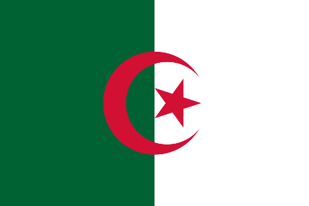 Facts about Algeria - Flag