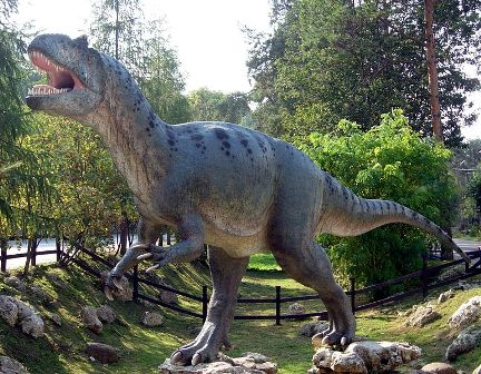 Facts about allosaurus - Allosaurus model