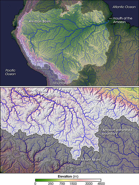Amazon River Boundaries