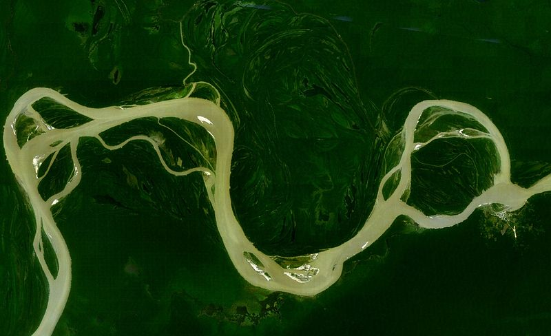 Amazon River Geography