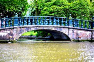 One of the bridge in Amsterdam
