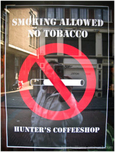 Smoking is allowed without tobacco