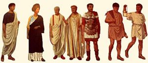 The clothes of Ancient Rome