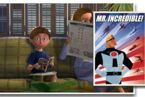 "A ""Mr. Incredible"" comic book"