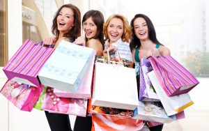 Favorite activity for women (shopping)