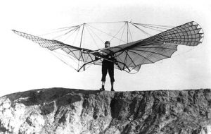 The glider by Otto Lienthal