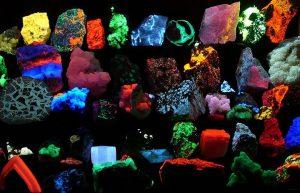 The glow of fluorite