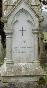 Florence Nightingale's grave