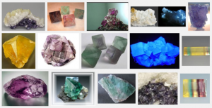 The colors of fluorite