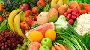The popular vegetables and fruits in the world