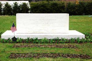 Franklin D. Roosevelt's grave