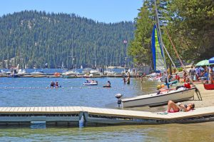 Huntington Lake in California