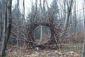 One of the example of Andy Goldsworthy artwork