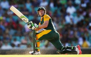 The best batsman in the world, Abraham Benjamin de Villers