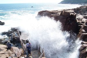 Thunder Hole at Acadia National Park