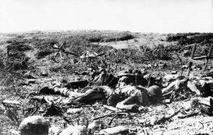 The death people of Gallipoli War