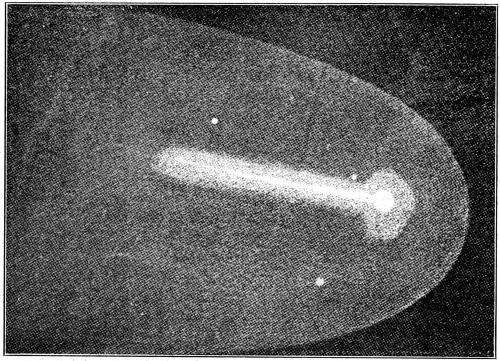 Halley's comet 1835