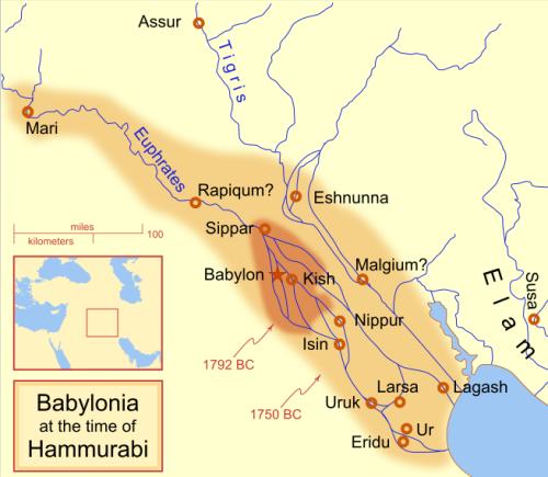 Hammurabi Map