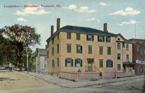 Henry Wadsworth Longfellow Birthplace