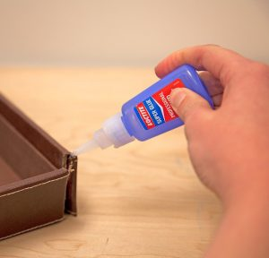 Glue can stick things together