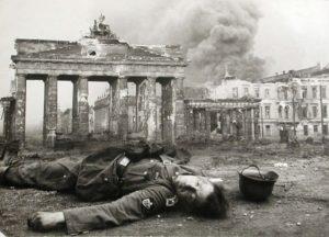 The Brandenburg Gate during World War II
