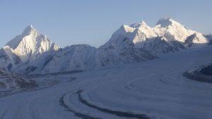 The Siachen glacier