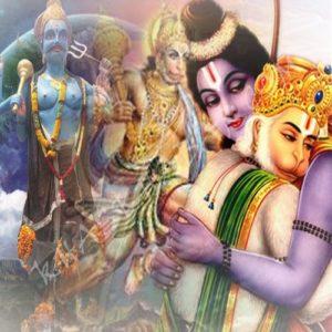 Hanuman rescued Shani Dheva