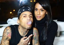 Kid Ink and his wife, Asiah Azante